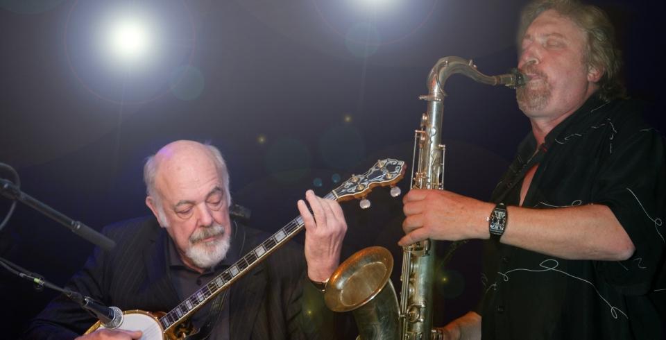 """Reiner Regel, Peter """"Banjo"""" Meyer & Band"""